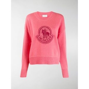 Moncler Logo-detailed Wool/cashmere sweater